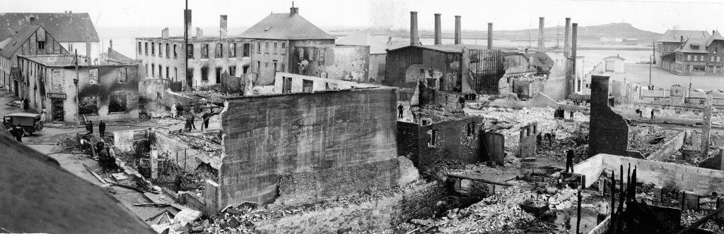 feu de 1939 quartier de Nuits Saint-Pierre